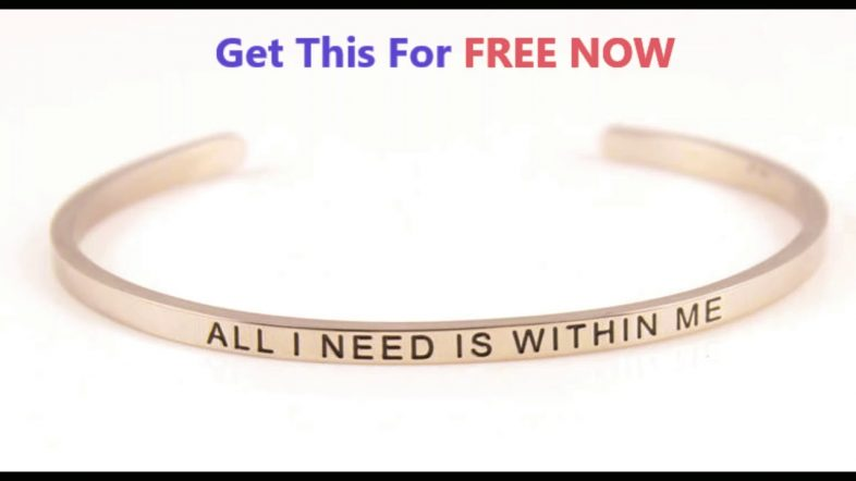 How To Manifest Anything You Want In Minutes With FREE Affirmation Cuff