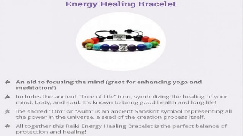 Free Reiki Bracelet- Free - Just Pay Shipping
